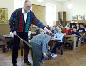 Spanking - a form of corporal punishment in schools